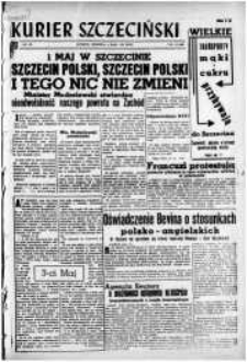 Kurier Szczeciński. R.3, 1947 nr 117