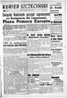 Kurier Szczeciński. R.3, 1947 nr 168