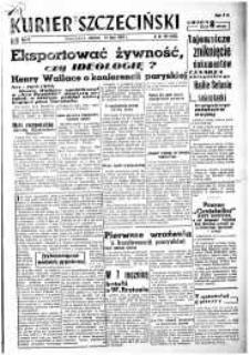 Kurier Szczeciński. R.3, 1947 nr 187