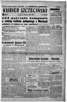 Kurier Szczeciński. R.3, 1947 nr 260