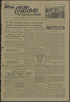 Głos Koszaliński. 1952, maj, nr 112