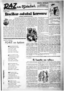 Raz na Tydzień : dodatek niedzielny Kuriera Szczecińskiego. R.2, 1947 nr 1