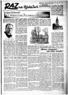 Raz na Tydzień : dodatek niedzielny Kuriera Szczecińskiego. R.2, 1947 nr 5