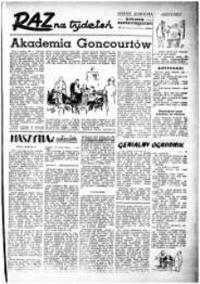 Raz na Tydzień : dodatek niedzielny Kuriera Szczecińskiego. R.2, 1947 nr 6