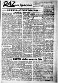 Raz na Tydzień : dodatek niedzielny Kuriera Szczecińskiego. R.2, 1947 nr 8