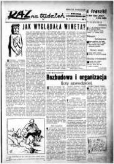 Raz na Tydzień : dodatek niedzielny Kuriera Szczecińskiego. R.2, 1947 nr 11