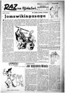 Raz na Tydzień : dodatek niedzielny Kuriera Szczecińskiego. R.2, 1947 nr 12
