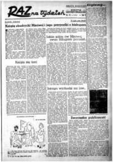 Raz na Tydzień : dodatek niedzielny Kuriera Szczecińskiego. R.2, 1947 nr 15
