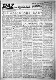 Raz na Tydzień : dodatek niedzielny Kuriera Szczecińskiego. R.2, 1947 nr 16