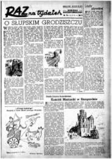 Raz na Tydzień : dodatek niedzielny Kuriera Szczecińskiego. R.2, 1947 nr 19