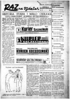 Raz na Tydzień : dodatek niedzielny Kuriera Szczecińskiego. R.2, 1947 nr 20