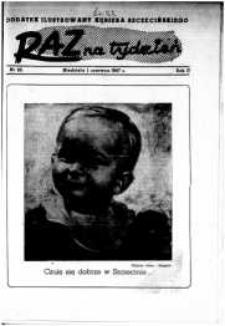 Raz na Tydzień : dodatek niedzielny Kuriera Szczecińskiego. R.2, 1947 nr 23