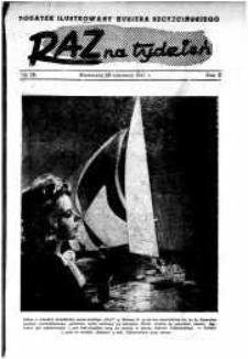 Raz na Tydzień : dodatek niedzielny Kuriera Szczecińskiego. R.2, 1947 nr 26