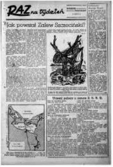 Raz na Tydzień : dodatek niedzielny Kuriera Szczecińskiego. R.2, 1947 nr 29