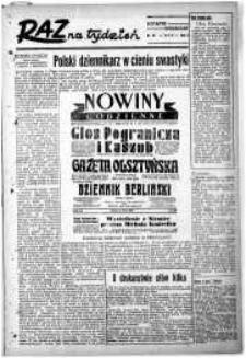 Raz na Tydzień : dodatek niedzielny Kuriera Szczecińskiego. R.2, 1947 nr 30