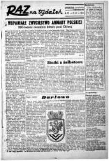 Raz na Tydzień : dodatek niedzielny Kuriera Szczecińskiego. R.2, 1947 nr 32