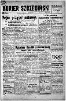 Kurier Szczeciński. R.4, 1948 nr 31