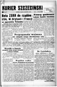 Kurier Szczeciński. R.4, 1948 nr 103