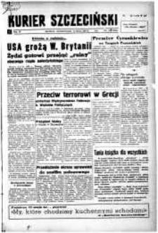 Kurier Szczeciński. R.4, 1948 nr 127