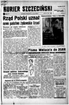 Kurier Szczeciński. R.4, 1948 nr 136