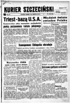 Kurier Szczeciński. R.4, 1948 nr 225