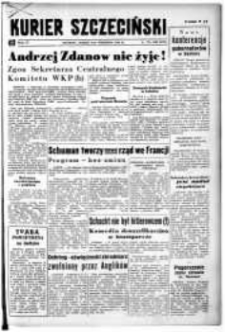 Kurier Szczeciński. R.4, 1948 nr 242