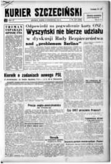 Kurier Szczeciński. R.4, 1948 nr 278
