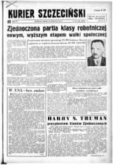 Kurier Szczeciński. R.4, 1948 nr 306