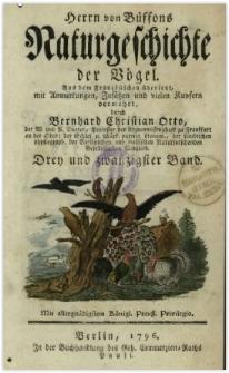 Naturgeschichte der Vögel. Bd. 23