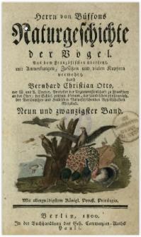 Naturgeschichte der Vögel. Bd. 29