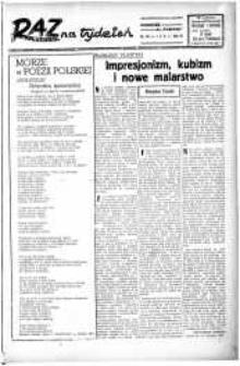 Raz na tydzień : dodatek niedzielny. R.3, 1948 nr 42