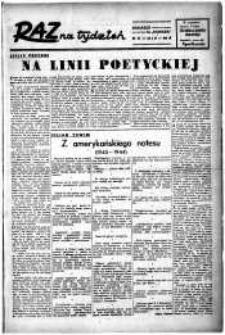 Raz na tydzień : dodatek niedzielny. R.3, 1948 nr 57