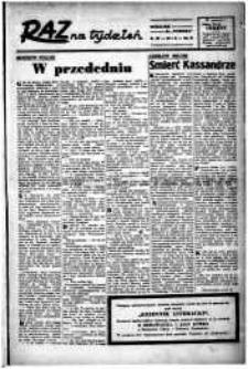 Raz na tydzień : dodatek niedzielny. R.3, 1948 nr 58