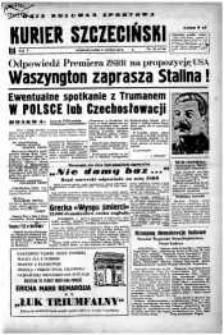 Kurier Szczeciński. R.5, 1949 nr 34