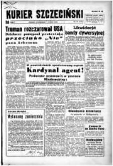 Kurier Szczeciński. R.5, 1949 nr 37