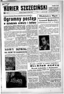 Kurier Szczeciński. R.5, 1949 nr 48
