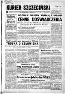 Kurier Szczeciński. R.5, 1949 nr 75