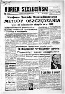 Kurier Szczeciński. R.5, 1949 nr 80