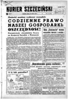 Kurier Szczeciński. R.5, 1949 nr 81