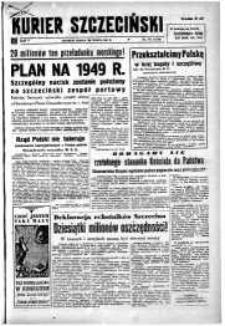 Kurier Szczeciński. R.5, 1949 nr 84
