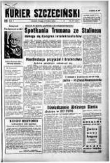 Kurier Szczeciński. R.5, 1949 nr 87