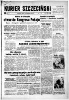 Kurier Szczeciński. R.5, 1949 nr 106