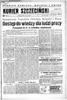 Kurier Szczeciński. R.5, 1949 nr 121