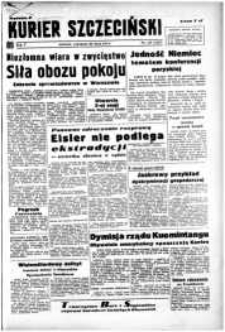 Kurier Szczeciński. R.5, 1949 nr 143