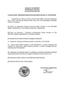 Uchwała Rady Miejskiej w Koszalinie nr XLV/662/2014