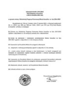 Uchwała Rady Miejskiej w Koszalinie nr XLVIII/678/2014