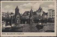 Stettin, Hansabrücke mit Zollamt