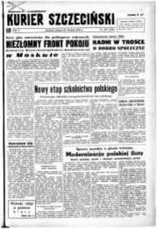 Kurier Szczeciński. R.5, 1949 nr 235