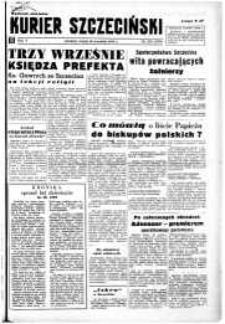Kurier Szczeciński. R.5, 1949 nr 255 wyd. miejskie