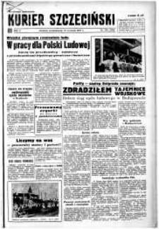 Kurier Szczeciński. R.5, 1949 nr 258 wyd. miejskie